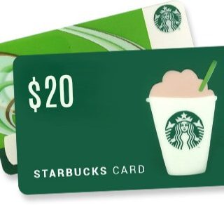 Goodbye Winter Starbucks Giveaway