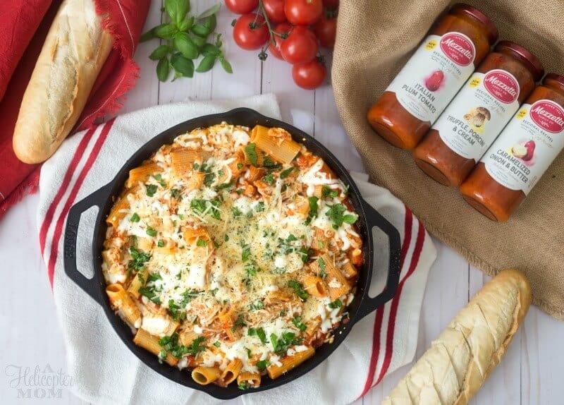 Mezzetta Pasta Sauces for Recipes