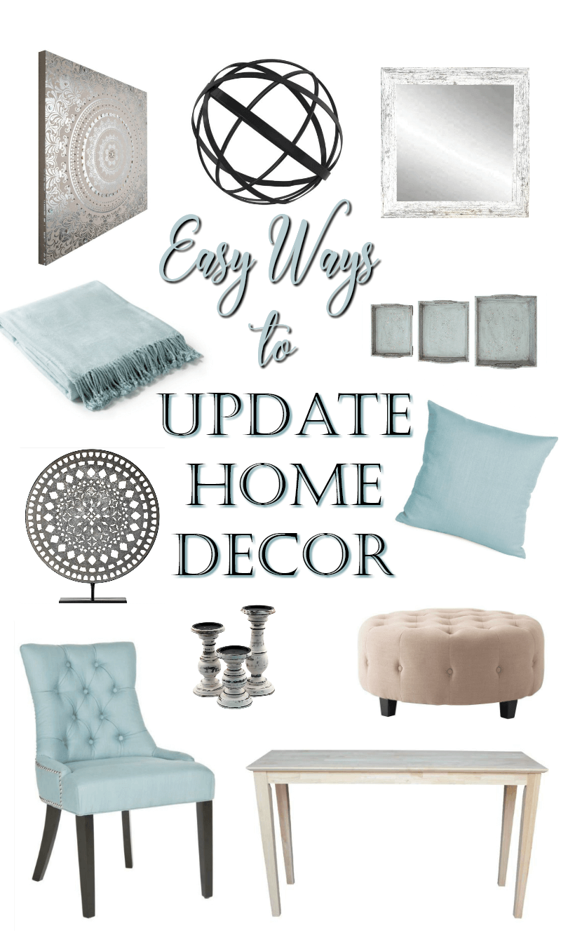 Easy Ways to Update Home Decor AHM
