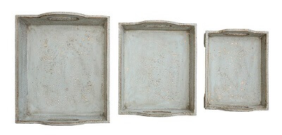 Easy Ways to Update Home Decor Distressed Trays